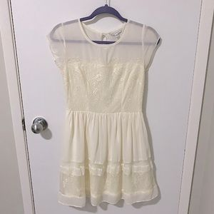 American Eagle Outfitters Floral Lace Mini Dress